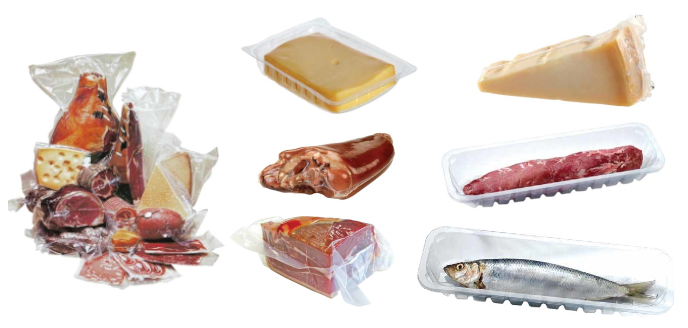 Embalaža za meso, ribe in sir